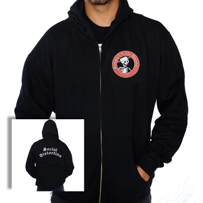 Social Distortion - Mommy's Little Monster | Kids Zip-Hood