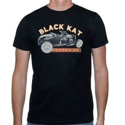 black-kat-kustoms - Hot Rod | T-Shirt